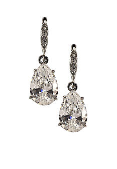 Givenchy Cubic Zirconia Drop Earrings