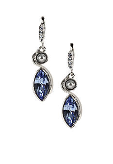 Givenchy Sapphire Drop Earrings