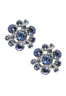 Givenchy Light Sapphire Button Earring