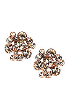 Givenchy Silk Cluster Button Earring