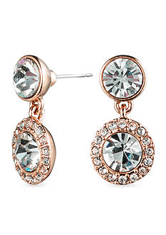 Givenchy Rose Gold-Tone Drop Earrings