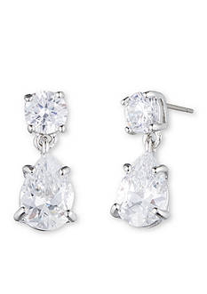 Givenchy Cubic Zirconia Pear Drop Earrings