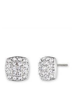Givenchy Pave Stud Earrings