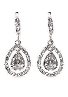 Givenchy Crystal Orbital Earrings
