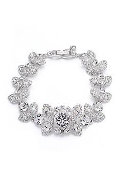 Givenchy Silver-Tone Crystal Flex Bracelet