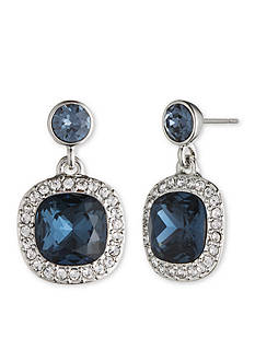 Givenchy Silver-Tone Small Drop Earrings