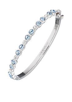 Givenchy Silver-Tone Blue Stone Bracelet
