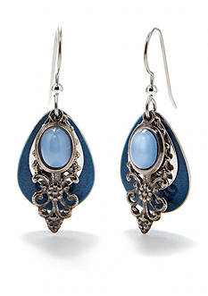 Silver Forest Dreamy Drop Earrings