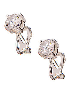 Lauren Ralph Lauren Cubic Zirconia Clip Earrings