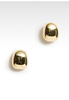 Lauren Ralph Lauren Gold Pillow Stud Earring