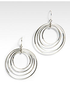 Lauren Ralph Lauren Large 4 Ring Hoop Earring