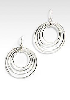 Lauren Ralph Lauren Large 4 Ring Hoop Earring