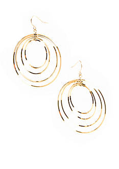 Lauren Ralph Lauren Large Gypsy Hoop Earrings