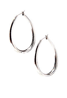 Lauren Ralph Lauren Teardrop Hoop Earrings
