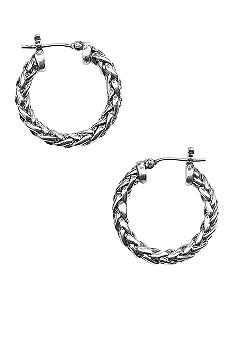 Lauren Ralph Lauren Small Braided Hoop Earring