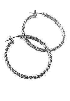 Lauren Ralph Lauren Large Braided Hoop Earring