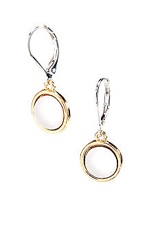 Lauren Ralph Lauren Button Drop Earring