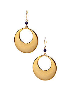Lauren Ralph Lauren Metal Gypsy Hoop Earrings