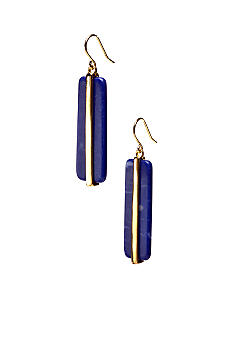 Lauren Ralph Lauren Large Blue Drop Earrings