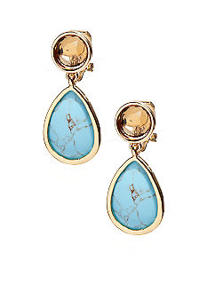Lauren Ralph Lauren Double Drop Clip Earrings
