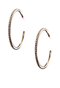 Lauren Ralph Lauren Cubic Zirconia Hoop Clip Earrings