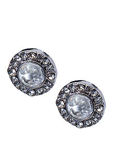 Lauren Ralph Lauren Crystal Stud Clip Earrings