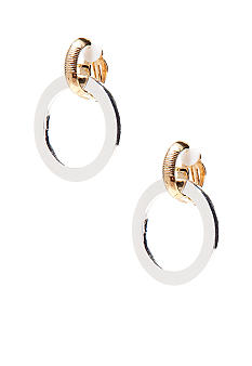 Lauren Ralph Lauren Doorknocker Clip Earrings