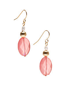 Lauren Ralph Lauren Cherry Quartz Drop Earrings