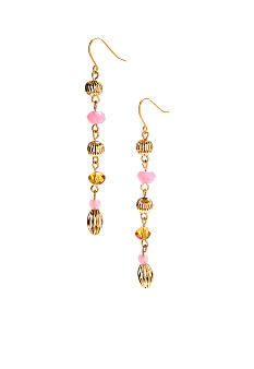 Lauren Ralph Lauren Multi Bead Linear Earrings