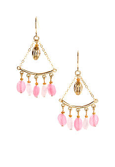 Lauren Ralph Lauren Multi Bead Chandelier Earrings
