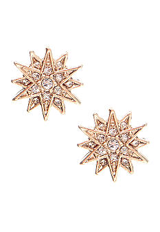 Lauren Ralph Lauren Pave Star Stud Earrings