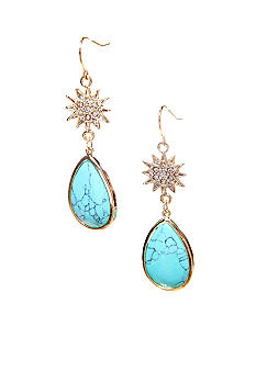 Lauren Ralph Lauren Turquoise Drop Earrings