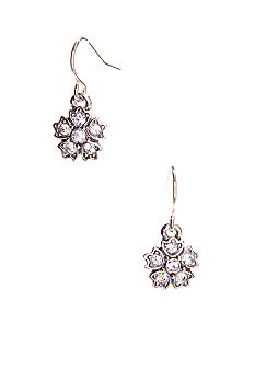 Lauren Ralph Lauren Openwork Pave Drop Earrings