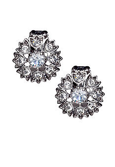 Lauren Ralph Lauren Pave Clip Earrings