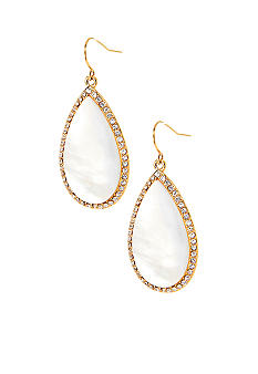 Lauren Ralph Lauren MOP Teardrop Earrings