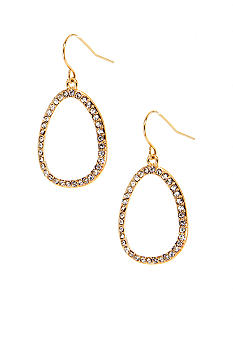Lauren Ralph Lauren Pave Link Earrings