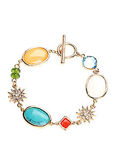 Lauren Ralph Lauren Multi-Colored Stone Bracelet
