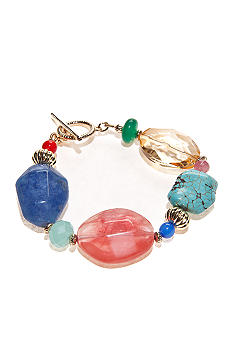 Lauren Ralph Lauren Multi-Beaded Bracelet