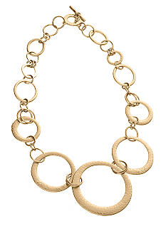 Lauren Ralph Lauren Hammered Ring Necklace