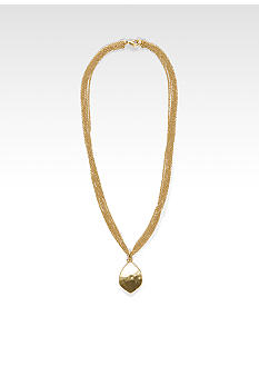 Lauren Ralph Lauren Teardrop Pendant Necklace
