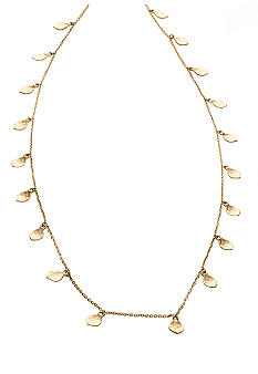 Lauren Ralph Lauren Hammered Teardrop Necklace
