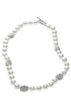 Lauren Ralph Lauren Glass Pearl Necklace