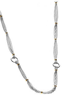 Lauren Ralph Lauren Lake Tahoe Silvertone Necklace