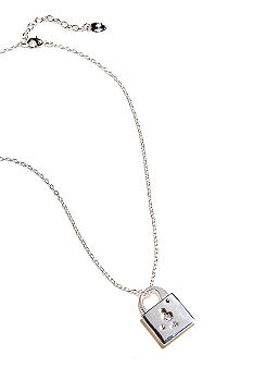 Lauren Ralph Lauren Chain Necklace With Locket Pendant