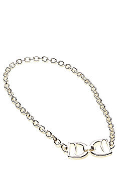 Lauren Ralph Lauren D-Ring Link Necklace