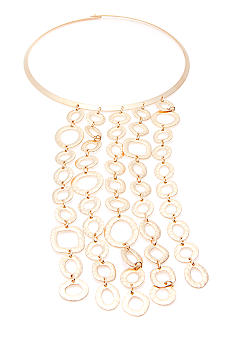 Lauren Ralph Lauren Metal Collar With Linear Links Necklace