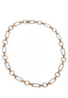 Lauren Ralph Lauren Two-Tone Links Necklace