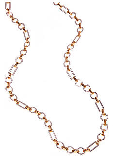 Lauren Ralph Lauren Two-Tone Metal Links Necklace