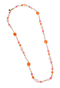 Lauren Ralph Lauren Multi-Bead Link Necklace