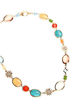 Lauren Ralph Lauren Multi-Colored Stone Necklace